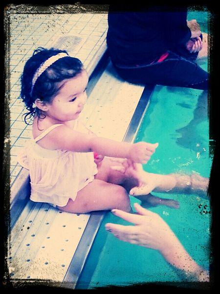 splashing aroubd