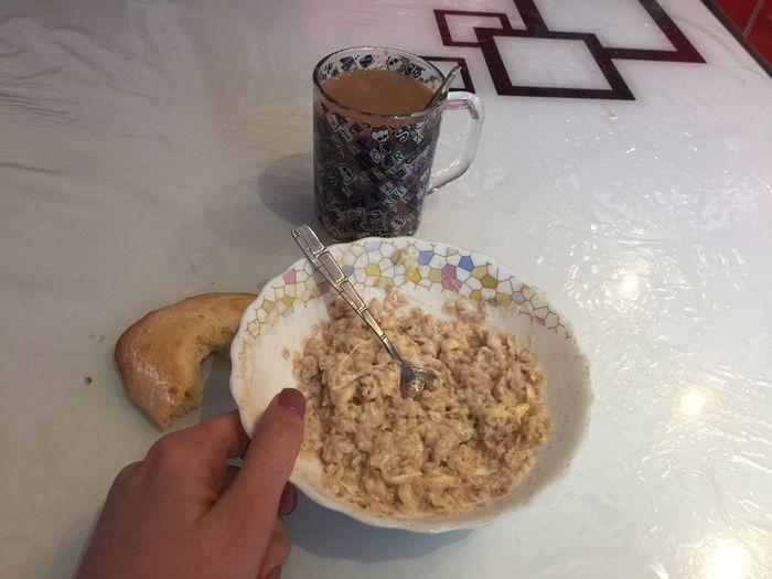 12.30-каша овсяная на молоководе с сыром и сочень с творогом(тот, что на снимке) ип завтракообед