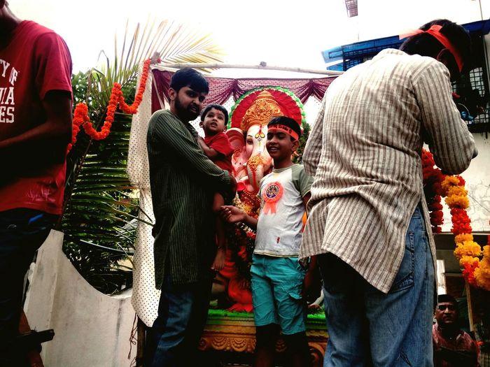 Ganeshafestival Ganesha Lord Of Success Ganesha Statue Visarjanday