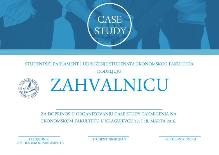 Case Study Blue Case Study Information