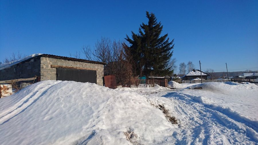 Snow Cold Temperature Winter Clear Sky Sky Architecture Built Structure Building Exterior