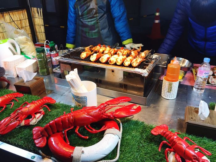 Koreanstreetfood Lobsters