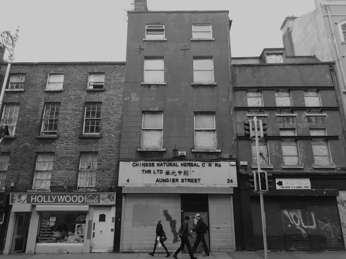 Architecture Streetphotography Dublin Black And White Photography