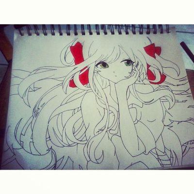 Drawing Animecute Prismacolor Cute