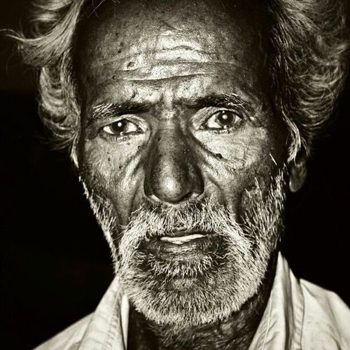 That striking face. Strangesadhu Chennai BrownCulture