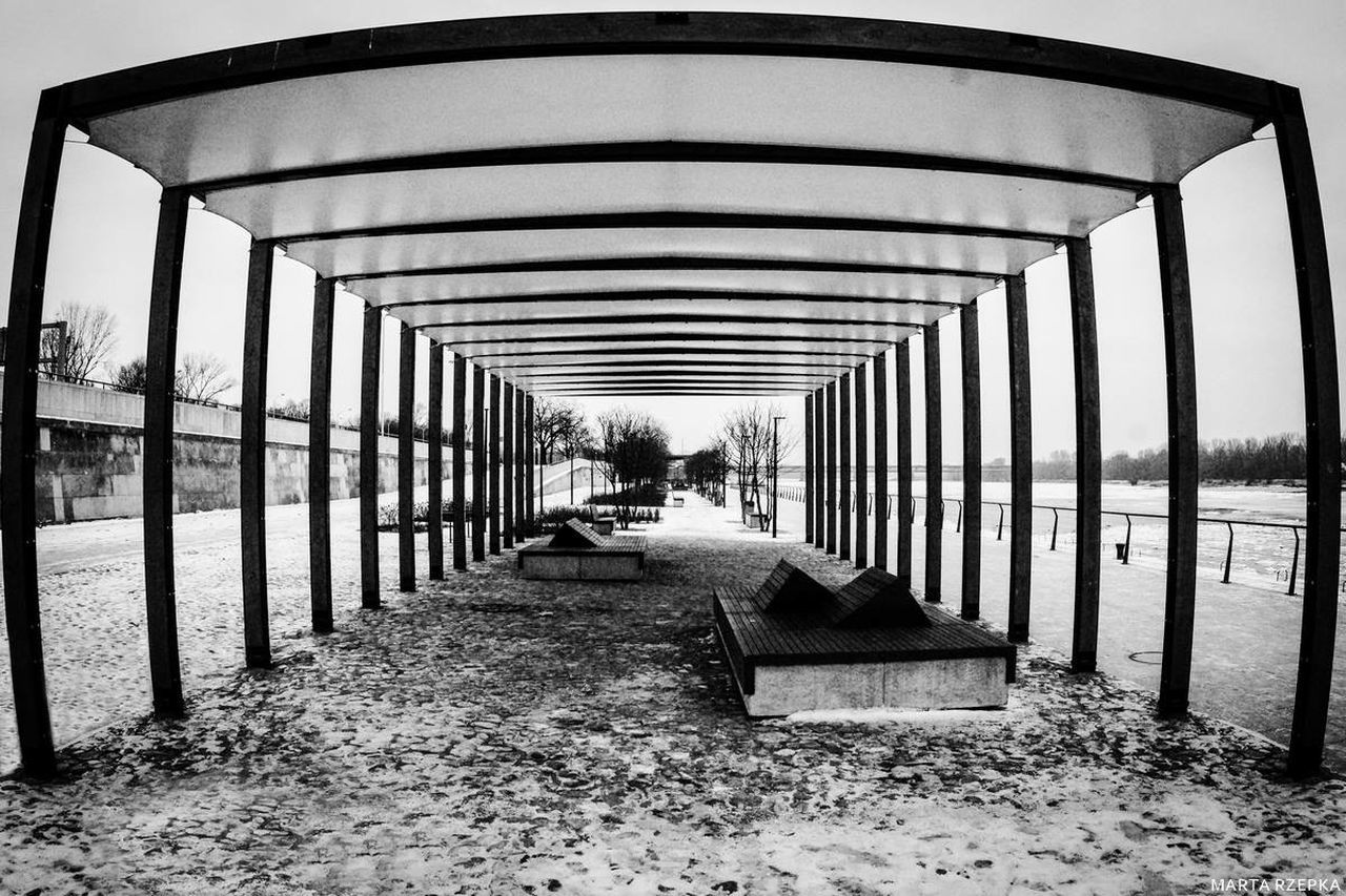 the way forward, built structure, day, architecture, water, transportation, outdoors, sky, no people