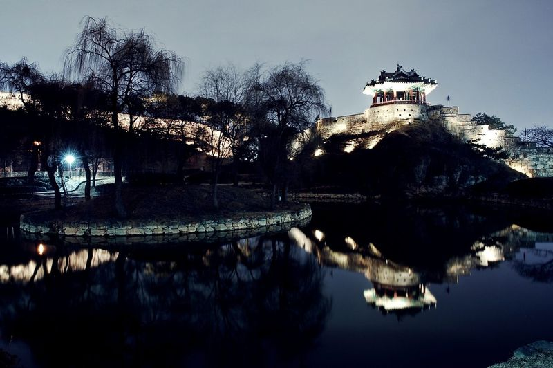 Banghwasulyujeong Night Lights Nightphotography Night View Water Reflections Hello World Hi! Traditional Nikon D50 Relaxing