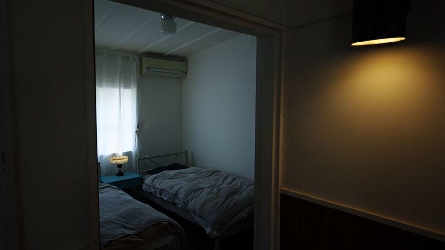 Indoors  Bed
