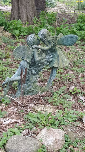 Outdoors Taking Photos Wisconsin Outside Photography Outdoor Photography Outside :-) Outside Statue Fairies
