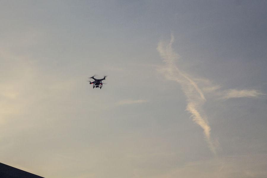 Air Vehicle Belarus Blue Castle Cloud Drone  Flying Lida No People Outdoors Sky Transportation