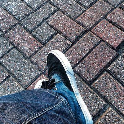 Vans Jeans Suède Friday Stone Bricks Bluesuedeshoes