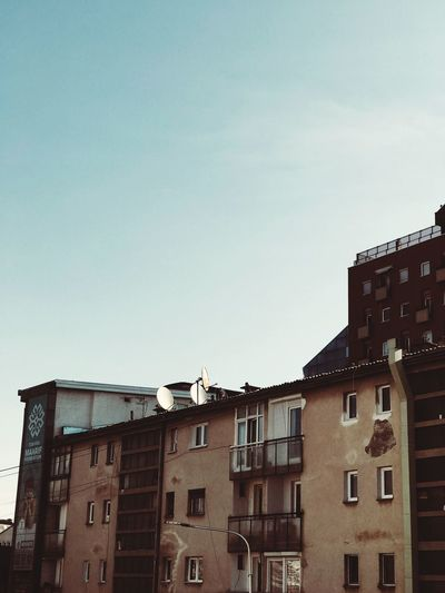 City of antique Architecture Building Exterior Built Structure Sky Building Residential District Window City Old Clear Sky Outdoors Sunlight Apartment First Eyeem Photo
