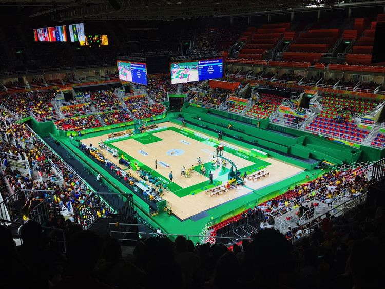 The Color Of Sport ParaOlympics Olympics Colors Basketball Basketball Game Good Times