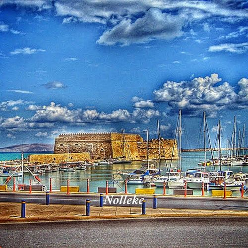 MEMORIES OF GREECE Vacation Kreta Heraklion Habour MyHdrWorld