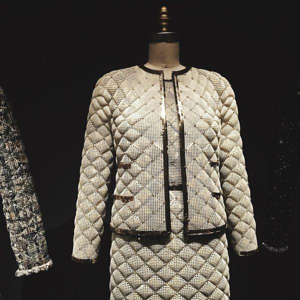 Channel | Dress Couture Karl Lagerfeld Lagerfeld Met Metmuseum  NYC New York New York City Museum Manusxmachina