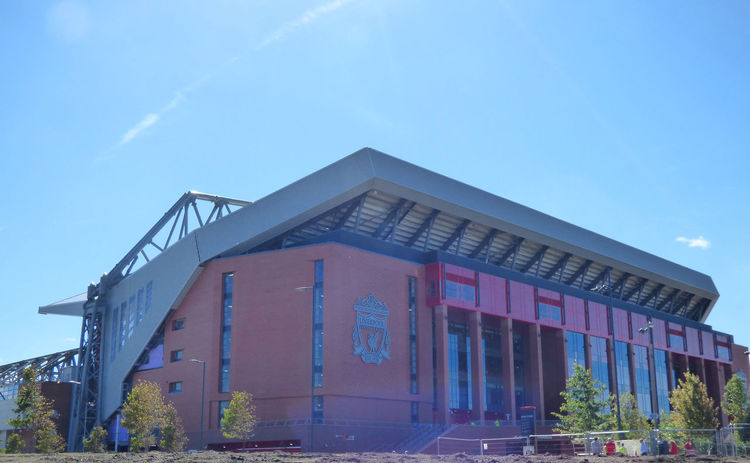 Anfield Architecture Liverpoolfc New Main Stand YNWA