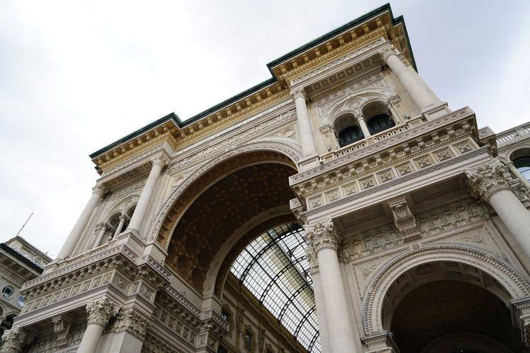 Arch Architectural Column Architecture Building Exterior Built Structure City Mailand Travel Travel Destinations