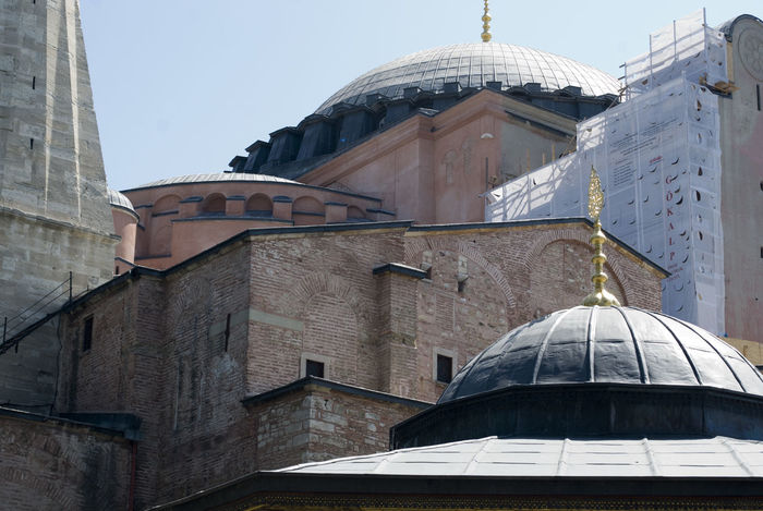 Architecture Building Exterior Built Structure Canopy City Details Dome Government Hagia Sophia History Istanbul Lights Mosque Old Cathedral Old Mosque Politics And Government Religion Sancta Sophia Travel Destinations Turkey Turkey Mosque Turkish Latter