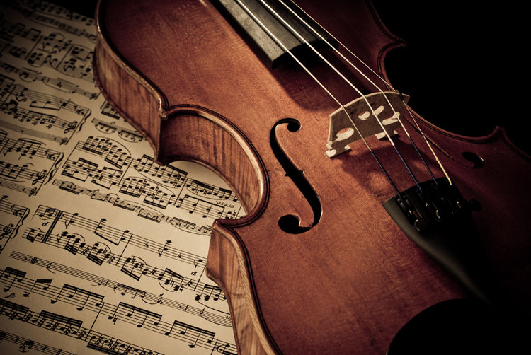 old violin on music sheet Antique Arts Culture And Entertainment Brown Classical Music Close-up Expensive Fiddle Focus On Foreground Music Music Sheets Musical Equipment Musical Instrument Musical Instrument String Notes Part Of Rare Selective Focus Still Life Vintage Violine  Wooden