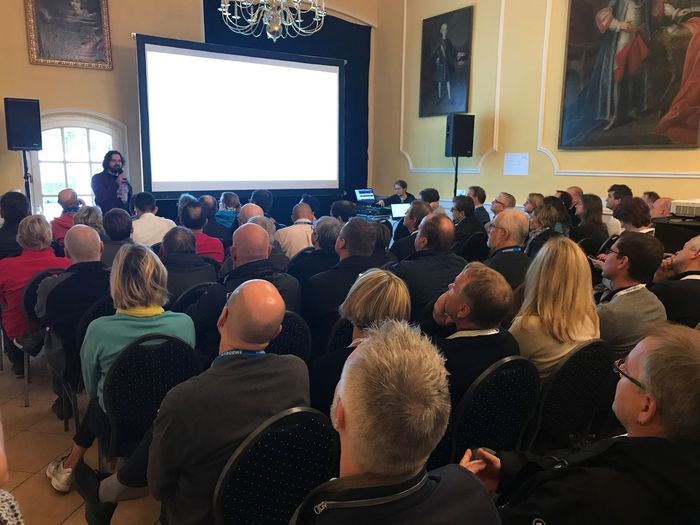 Schloss aufhausen Large Group Of People People Arts Culture And Entertainment Togetherness Indoors  Real People Seminar Erding event Audience