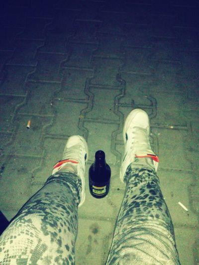 Nightphotography Relaxing Chillin Night Beer