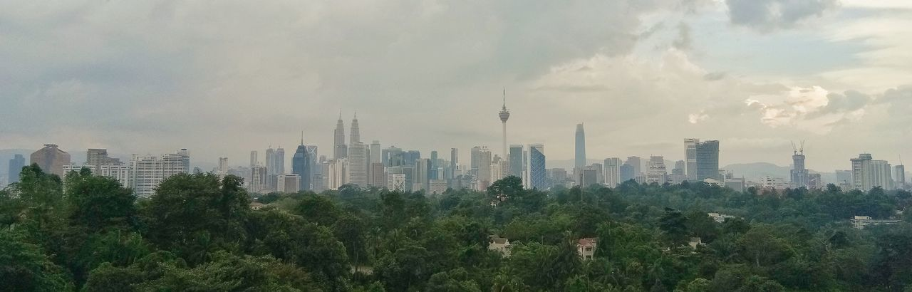 Panorama of kuala Lumpur cityscape City Cityscape Urban Skyline Skyscraper Modern Tree Downtown District Business Finance And Industry Sky Architecture Office Building Exterior Chicago - Illinois Canary Wharf Chicago Office Park Urban Sprawl Spire  Foggy Financial District  Storm Cloud Tall - High Office Building Tower