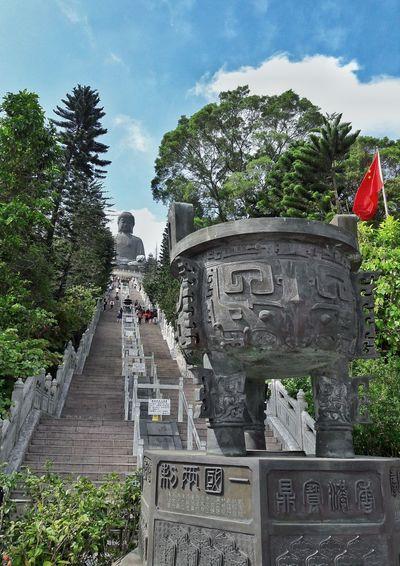 TIan Tan Buddha Statue Nongping HongKong