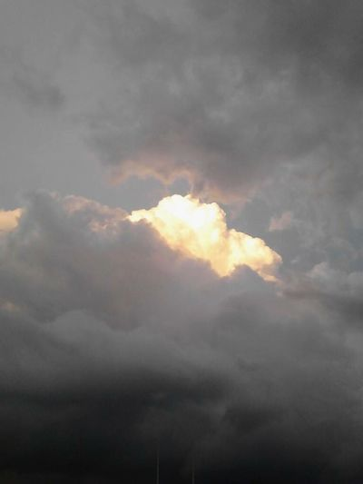 Skies Opened Cloud - Sky Nature Sky Weather No People Beauty In Nature Outdoors Storm Cloud Thunderstorm Low Angle View Scenics