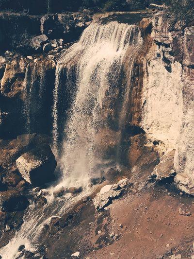 Paulina Falls Waterfalls EyeEm Selects Water Backgrounds Motion Close-up Rushing