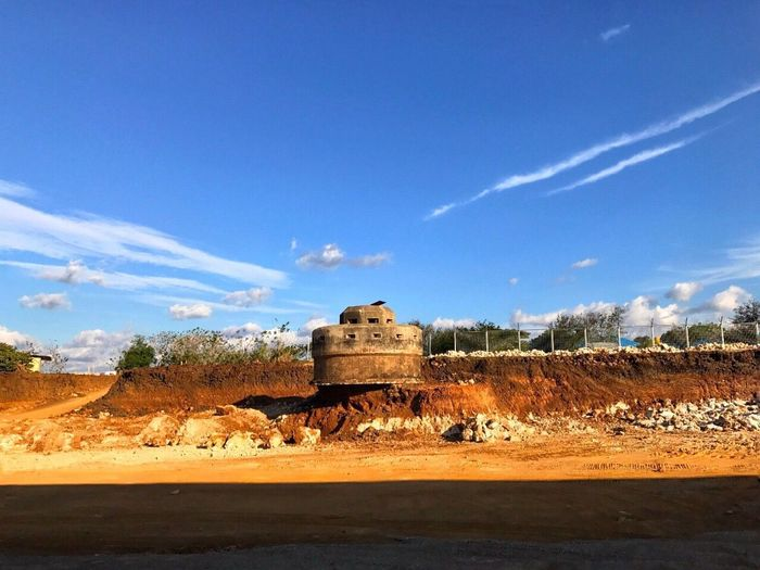 Bunker Kupang INDONESIA War Sky Blue Nature