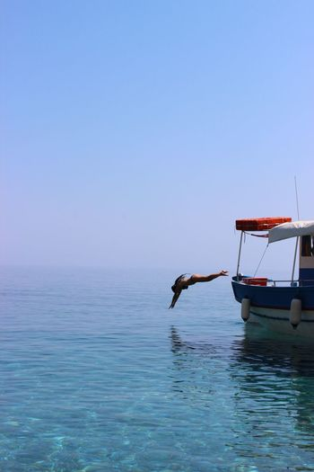 Summer Greece Boat Diving Alonissos Sea Blue Learn & Shoot: Simplicity