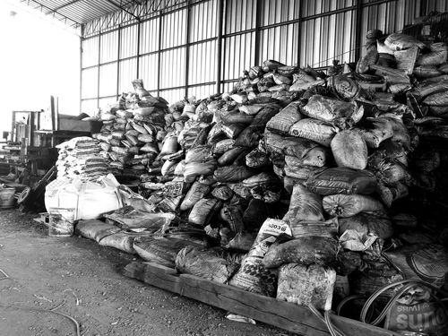 Charcoal Factory Otop  Charcoal Blackandwhite