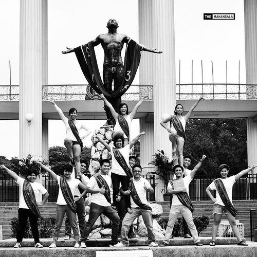 2014 in Review: UP Pep Squad's graduates 🎓 . . . UAAP Uppepsquad Upfight Basketball cheerleaders portraits portraiture blackandwhite themanansala