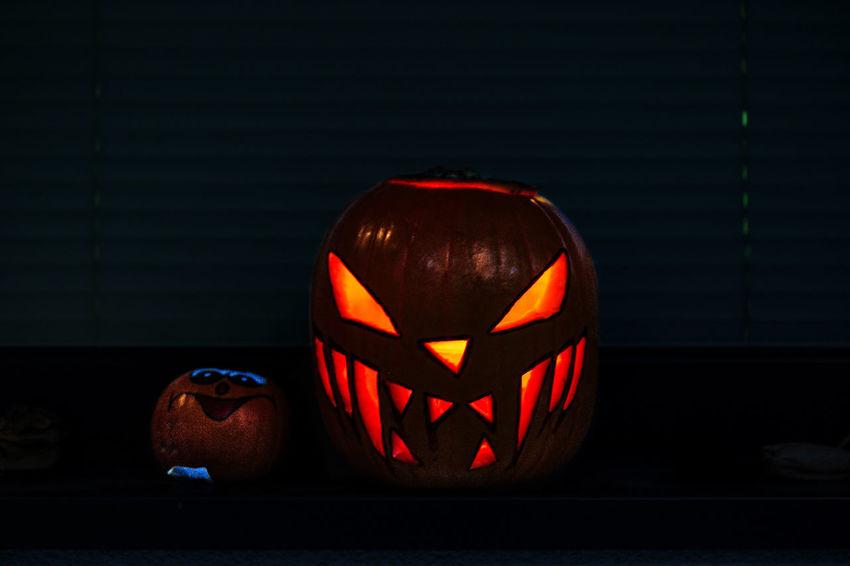Happy Halloween Monster Trick Or Treat Halloween Indoors  Night Spooky
