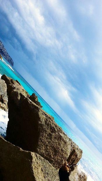 Enjoying The Sun Beach Mallorca Sea