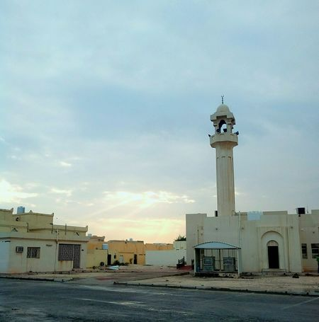 Sunrise AfterRaining Sky And Clouds Light And Shadow Lights Light And Shadows Light Up Your Life Mosque Muslims