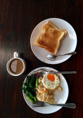 Breakfast ♥ Breakfast Time Coffee - Drink Fire Rice Coffee ☕ Morning Coffee Morning Morning Time Light And Shadow