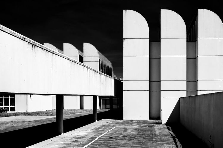 Achitecture Black And White Friday Architectural Feature Architecture Architecture Architecture_collection Architecturelovers Bauhaus Bauhaus Archiv Berlin Berlin Photography Black & White Blackandwhite Built Structure Day Design Infrared Infrared Photography Lines And Angles Lines&Design No People Outdoors Sky The Architect - 2017 EyeEm Awards Discover Berlin