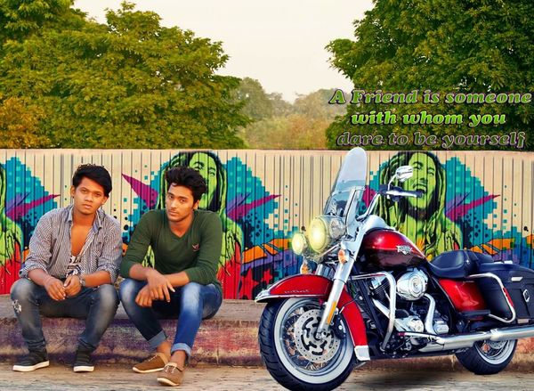 Friendship Two People Smiling Photoshop Photoshop Edit Photography PhotoShopCs6 Outdoors Edit Edited Edited My Way Bhilai Chhattisgarh India Young Adult Young Men Casual Clothing Togetherness Adults Only Sitting Youth Culture Young Women Happiness Real People Full Length First Eyeem Photo