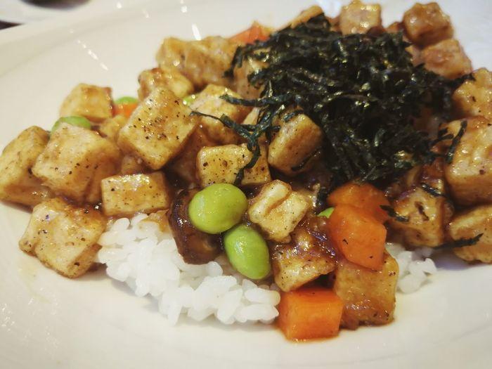 Tofu and bean