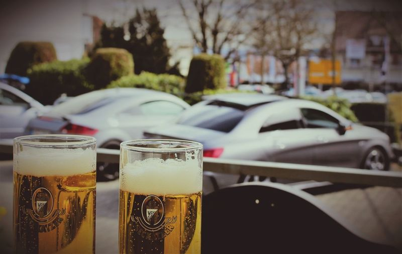Meckatzer Mercedes Cla Amg Audi TT S-Line Meckatzer Car Motor Vehicle Focus On Foreground Drink Refreshment Food And Drink Close-up First Eyeem Photo