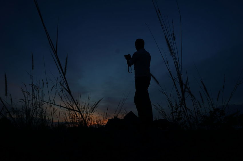 The photographer Photo Phoyography Photographer Sunset Evening Nature Sky View Picture Man