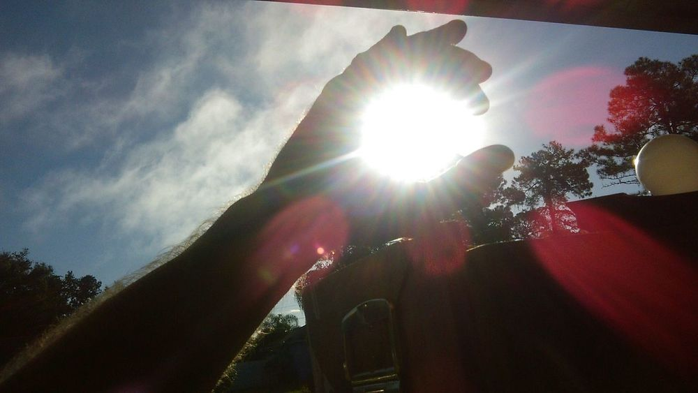 Putting the sunshine into my day Relaxing Enjoying The Sun Enjoying Life Hello World