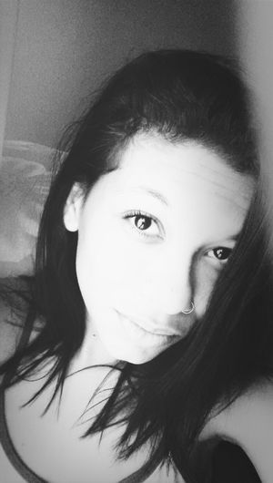 Blackandwhite Girl Good Morning
