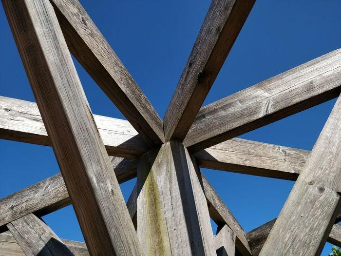 Girder Golf Club Bridge - Man Made Structure City Close-up Architecture Wooden