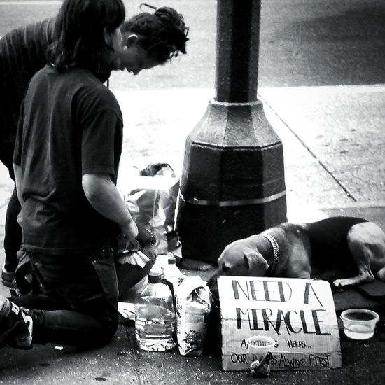 NYC Photography BeTHANKFUL Miracles Blackandwhite Photography Black And White Eye4photography  Eyemblackandwhite everyone needs a miracle at one point in their life... pay it forward!!!