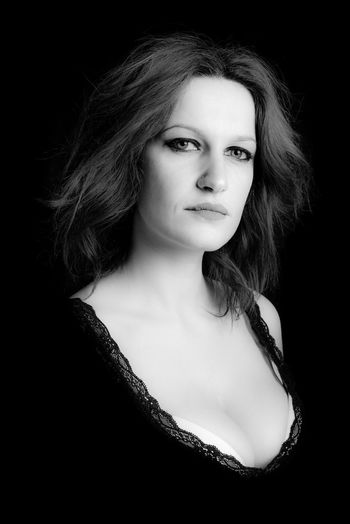 mistress Portrait Of A Woman Woman Beautiful People Beautiful Woman Beauty Black And White Black And White Photography Black Background Blackandwhite Dominant Front View Headshot Lifestyles Looking At Camera Mistress One Person Portrait Portraiture Studio Shot Woman Portrait Young Women