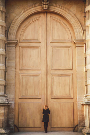The Portraitist - 2016 EyeEm Awards Girl Power Culture Door Doorway Entrance Geometry Girl Hanging Historic History The Following Open Ornate Outdoor Simplicity Symmetry Vertical Symmetry Wall Wood Wood - Material Wooden Women Who Inspire You 43 Golden Moments People And Places Connected By Travel