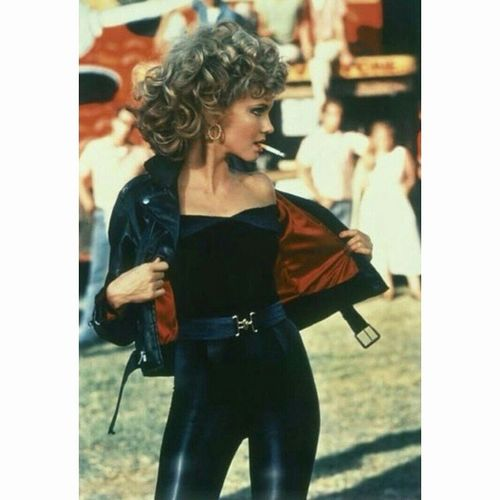 """Tell me about it, Stud "" Grease Sandy Olivianewton Hollywood Cinema"