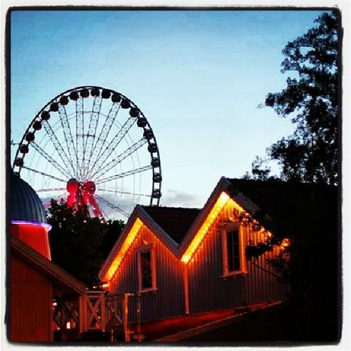 Ferris wheel Ferriswheel Whelsofsteal Evening Liseberg gothenburg Instagood Photooftheday Beautiful Picoftheday Instadaily All_shots Instago Nice Sky Blue Picstitch Igdaily Instapic Instaphoto Goodtimes Picture Pic Trees View Great